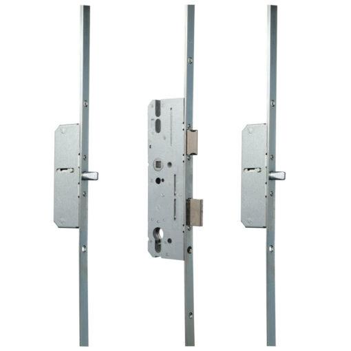 KFV AS2300 meerpuntsluiting met 2 pinnen - Gesloten toestand