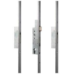 Sobinco 8401 meerpuntsluiting met U voorplaat - Open toestand