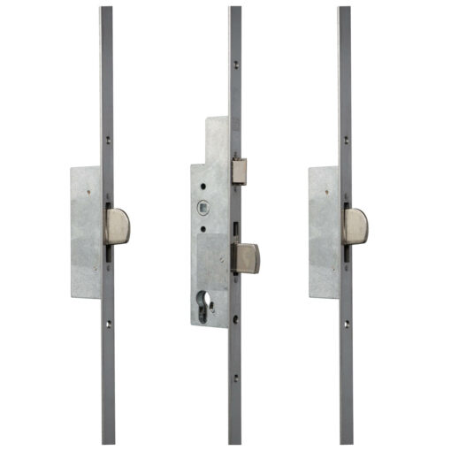 Sobinco 8401 meerpuntsluiting met vlakke voorplaat - Gesloten toestand