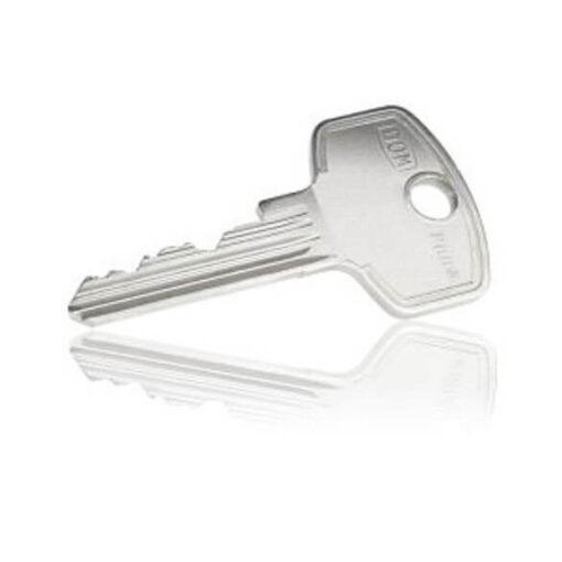 Dom Plura sleutel achterkant