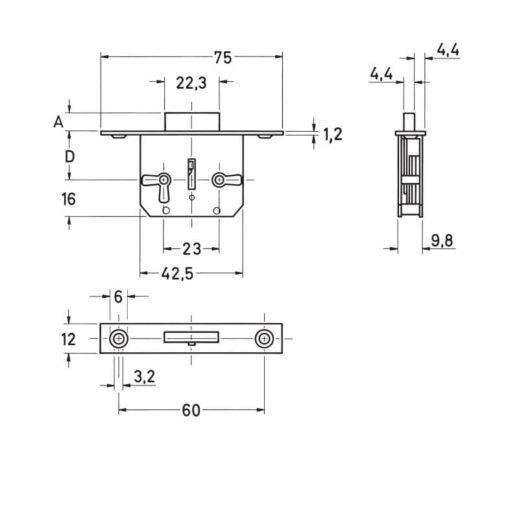junie-meubelslot-668-technische-tekening