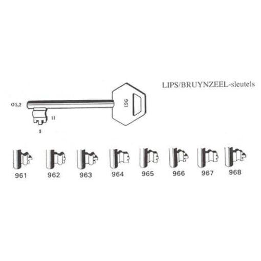 Lips baardsleutel 962