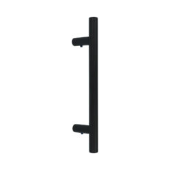 Intersteel zwarte deurgreep T-model - 1