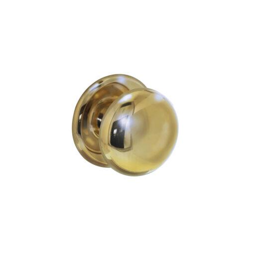 Intersteel Deurknop zwaar Koper titaan PVD