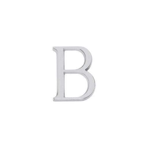 Intersteel Huisletter B chroom
