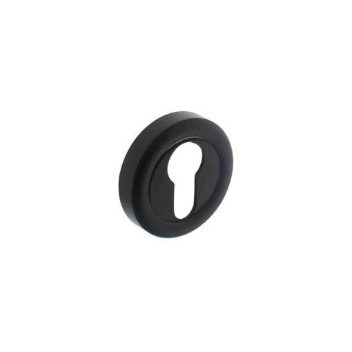 Intersteel Rozet Cali met profielcilindergat mat zwart