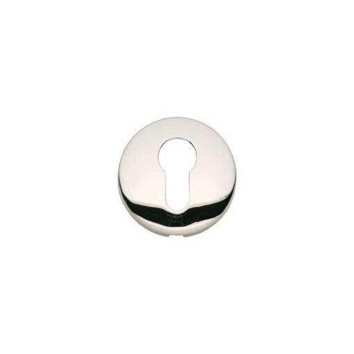 Intersteel Rozet met profielcilindergat bol rond verdekt nikkel