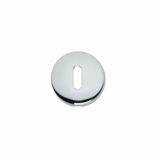 Intersteel Rozet met sleutelgat bol rond verdekt chroom