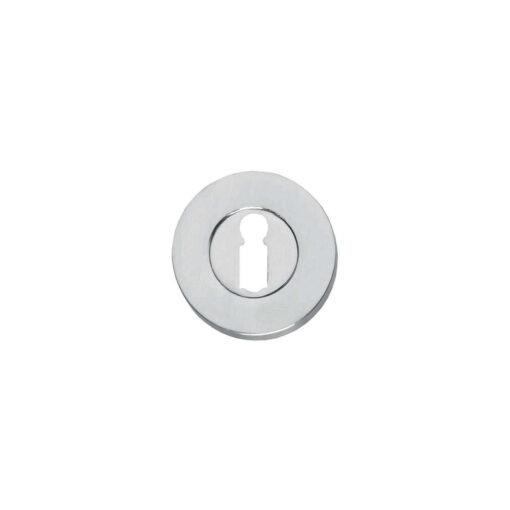 Intersteel Rozet sleutelgat rond chroom mat
