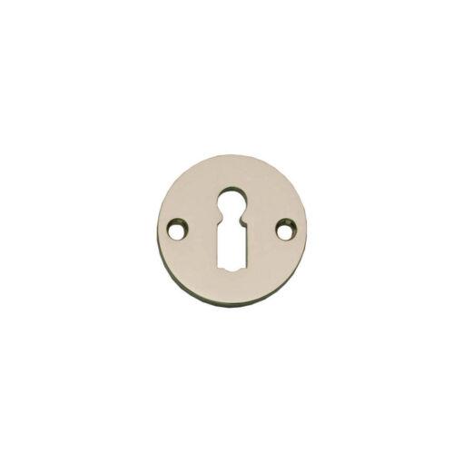 Intersteel Rozet sleutelgat rond plat nikkel