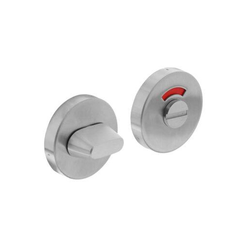 Intersteel Rozet toilet-/badkamersluiting rond verdekt INOX geborsteld 8 mm