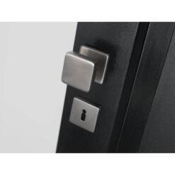 Intersteel Rozet vierkant met sleutelgat INOX geborsteld - Sfeerbeeld