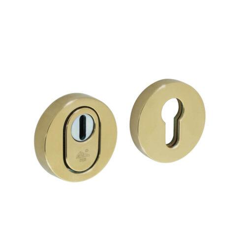 Intersteel Veiligheidsrozet SKG3 Cilinderbescherming Koper titaan PVD