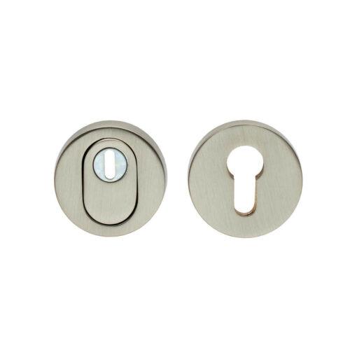 Intersteel Veiligheidsrozet SKG3 met Cilinderbescherming nikkel mat
