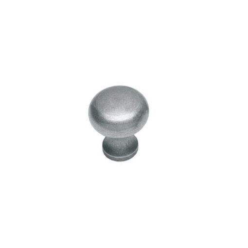 Intersteel kasttrekker Paddenstoel diameter 25 mm smeedijzer grijs