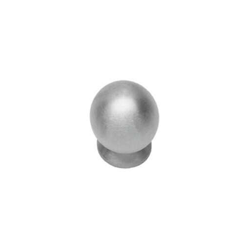 Intersteel kasttrekker diameter 20 mm bolrond INOX geborsteld