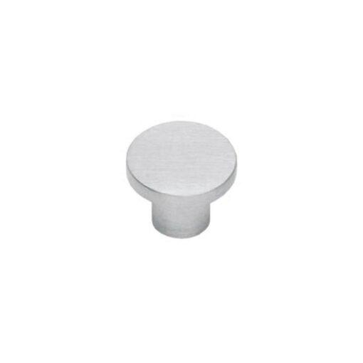 Intersteel kasttrekker diameter 25 mm plat INOX geborsteld