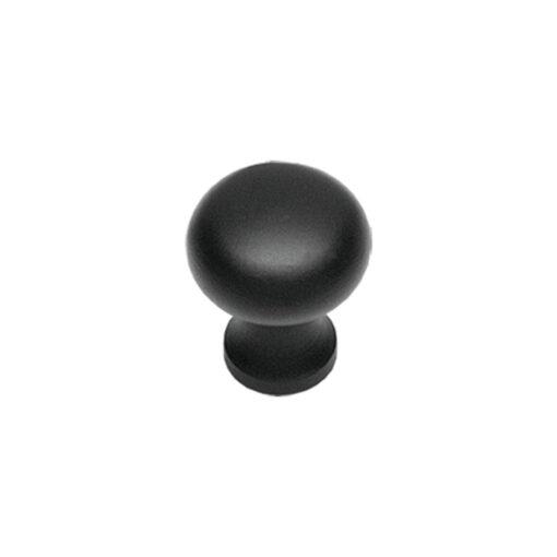 Intersteel kasttrekker diameter 35 mm smeedijzer zwart