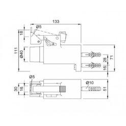 KWS 1011 - Technische tekening