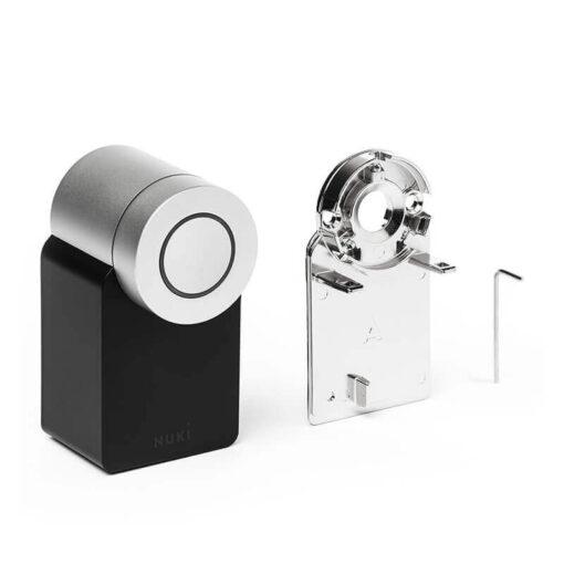 Nuki Smart Lock 2 met montageplaat