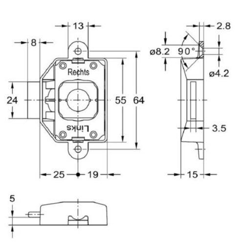 Junie 1781 25002 - Technische tekening