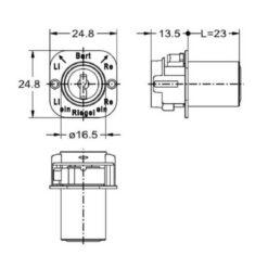 Junie 7557 00102 - Technische tekening