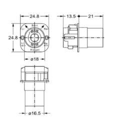 Junie 8510 0002 - Technische tekening