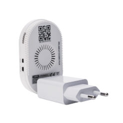 Abus plug and play camerabeveiliging PPIC90000 - Basisstation achterzijde