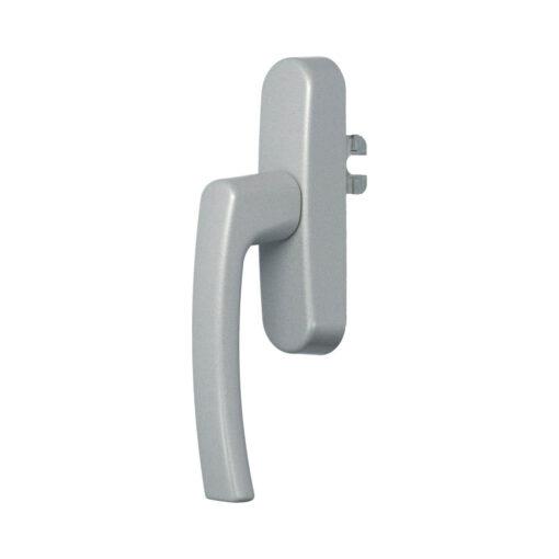 Roto 377474 raamkruk met vork - Zilver gelakt - 1