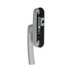 Roto 377474 raamkruk met vork - Zilver gelakt - 2