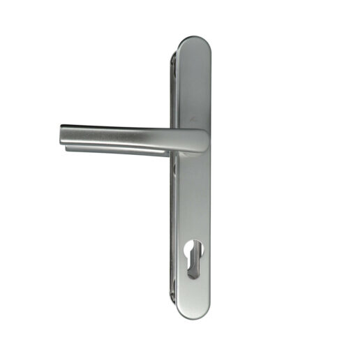 Roto 333215 zilveren deurkruk set op smalschild - 2