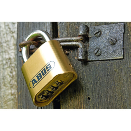 Abus 180IB-50HB63 roestvrij hangslot - In gebruik