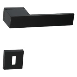 HDD PRO 6.492.090 deurkruk X-Treme - Mat zwart - Rozet met baardopening