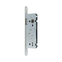 Litto A1353 baardslot voor binnendeuren - Witte voorplaat - 2