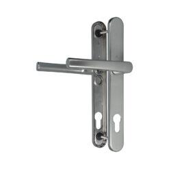 Roto 333215 zilveren deurkruk set op smalschild - 1