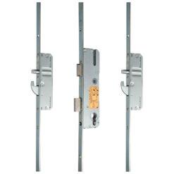 KFV AS2600 meerpuntsluiting met haak pin - Gesloten toestand