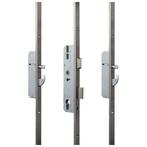 KFV AS2600 meerpuntsluiting met haak pin U-VP - Gesloten toestand