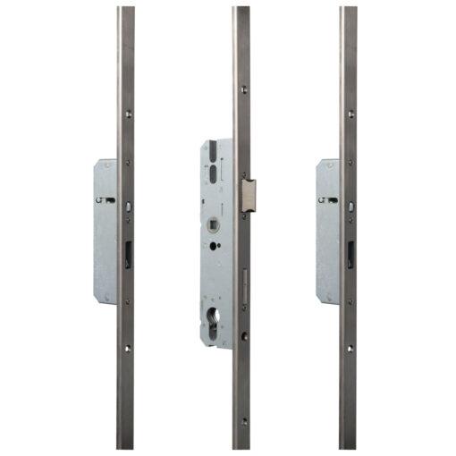 KFV AS2600 meerpuntsluiting met haak pin U-VP - Open toestand