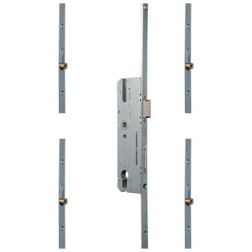 KFV AS8772 meerpuntsluiting met 4 rolnokken - Open toestand