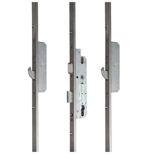 KFV magneet meerpuntsluiting met haak - Gesloten toestand
