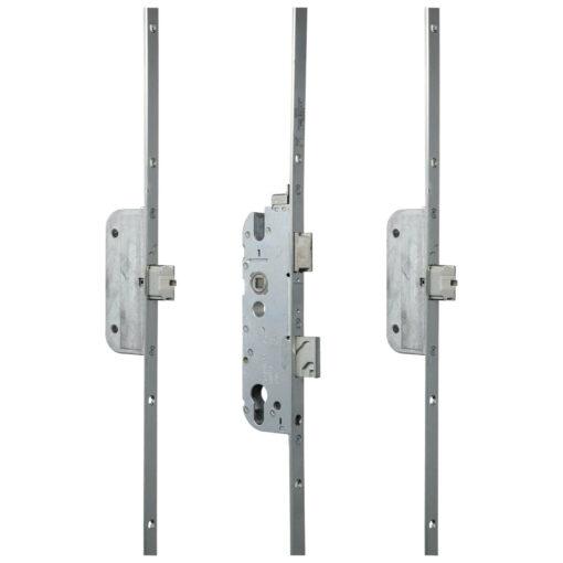 GU Automatic meerpuntsluiting met automatische schoten - Gesloten toestand