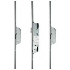 GU SH2 meerpuntsluiting met haak krukbediend - Open toestand