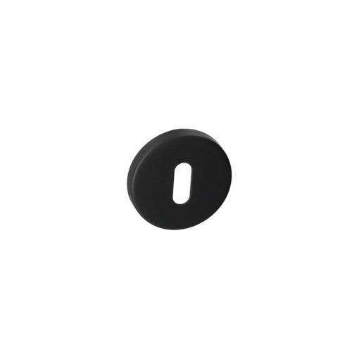 HDD Pro 1.005.090 ronde zwarte rozet met sleutelopening