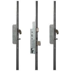 Sobinco 8431 meerpuntssluiting met haak-pin - U-vormige voorplaat - Gesloten toestand