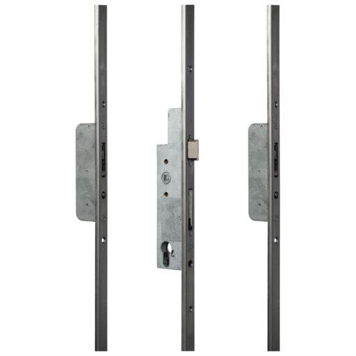 Sobinco 8431 meerpuntssluiting met haak-pin - U-vormige voorplaat - Open toestand