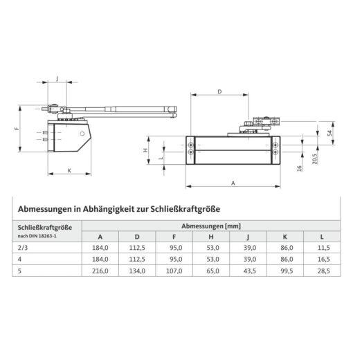 BKS OTS 81 - Technische tekening