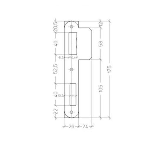 Litto-PA052-Technische-tekening