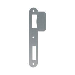 Litto PA052 sluitplaat voor houten deuren - Voor Litto 53 reeks - Inox look