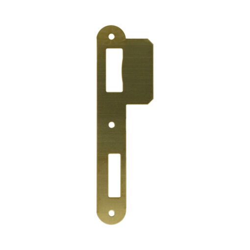 Litto PA052 sluitplaat voor houten deuren - Voor Litto 53 reeks - Messing